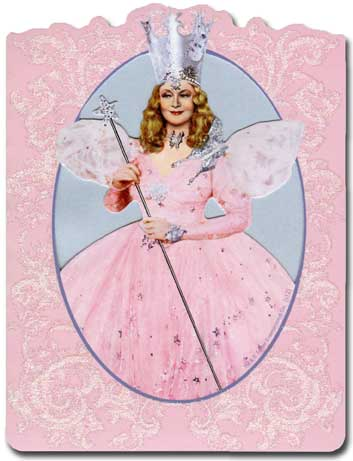 Oz: Glinda (1 card/1 envelope) Paper House Productions Die Cut 3D Blank Card