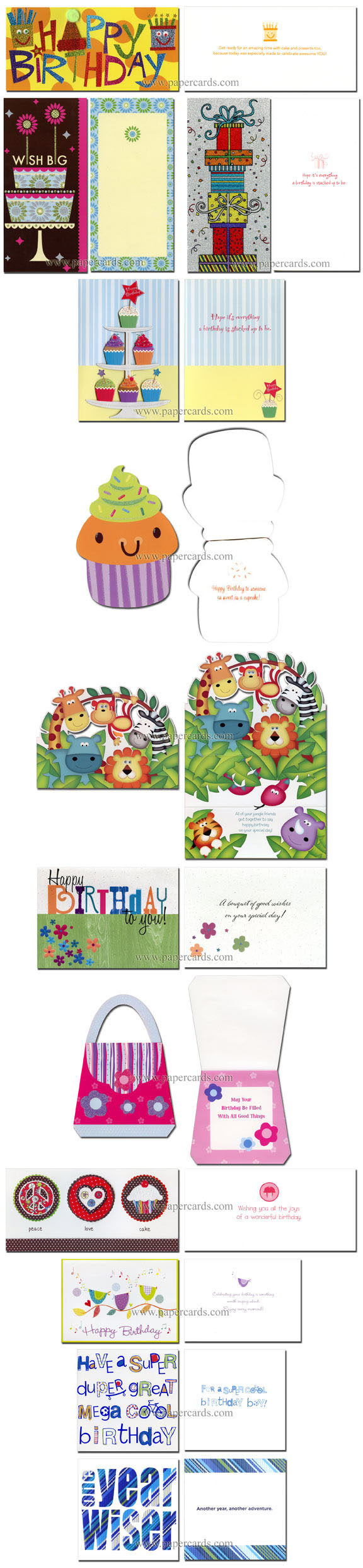 Box Of 25 Assorted All Occasion Embellished Greeting Cards By Paper