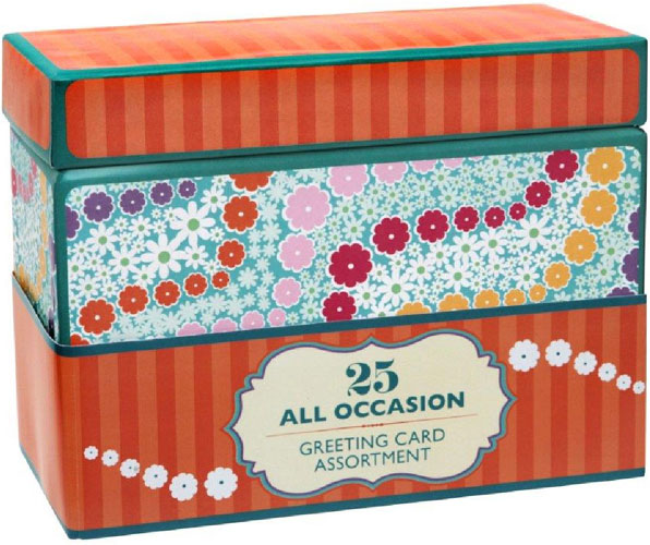 Paper Magic Box of 25 Assorted All Occasion Embellished Greeting – Assorted Birthday Cards