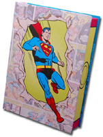 Superman Comic Keepsake Assortment (15 cards/15 envelopes) - Boxed Christmas Cards - FRONT: Various  INSIDE: Various