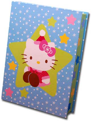 Hello Kitty Keepsake Assortment (15 cards/15 envelopes) Paper Magic Boxed Christmas Cards - FRONT: Various  INSIDE: Various
