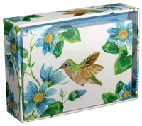 Hummingbird (14 cards/15 envelopes) - Boxed Blank Note Cards
