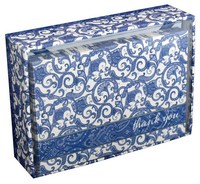 Blue Delft (14 cards/15 envelopes) Pictura Boxed Thank You Cards