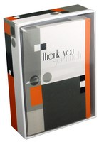 Geometric Shapes (14 cards/15 envelopes) Pictura Boxed Thank You Cards