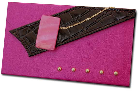 Hot Pink (60 Colored Sheets) Pictura Design House Clutch Pad