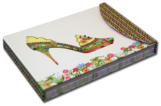 China Doll Pictura Head Over Heels Embellished Day Planner