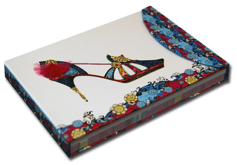Mandarin Midnight Pictura Head Over Heels Embellished Day Planner