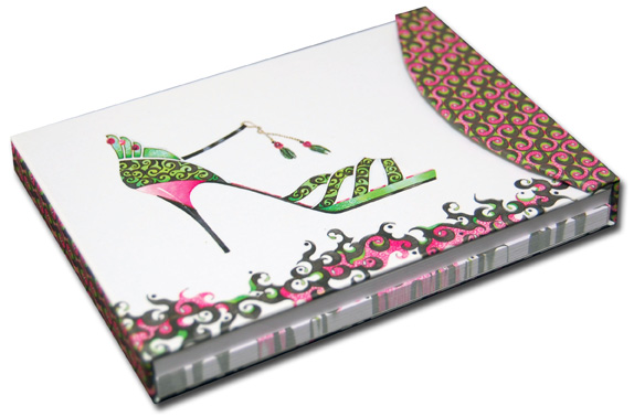 Dance Hall Diva Pictura Head Over Heels Embellished Day Planner