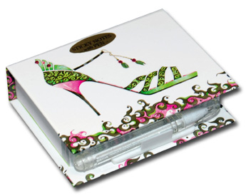 Dance Hall Diva (150 sheets) Pictura Head Over Heels Embellished Sticky Notes with Pen