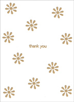 Daisy Splash Box of 25 Thank You Note Cards