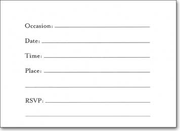 Flower Pot (25 Cards/28 Envelopes) Boxed Invitations - FRONT: You're Invited  INSIDE: Occasion - Date - Time - Place - RSVP
