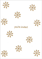 Daisy Splash Box of 25 Invitations
