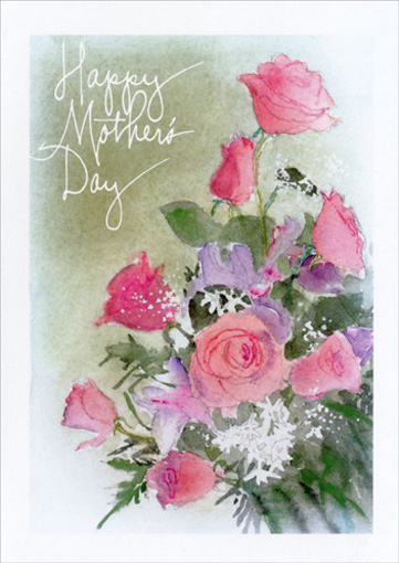 Happy Mother's Day Love to U (1 card/1 envelope) - Mother's Day Card - FRONT: Happy Mother's Day  INSIDE: Love to you on your special day and everyday.