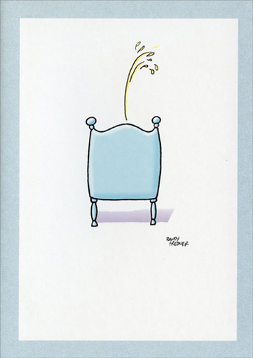 Gee Wiz (1 card/1 envelope) Funny Father's Day Card - FRONT: No text  INSIDE: Gee Wiz!  It's Your First Father's Day - Enjoy!