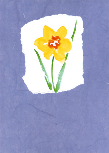 Special Daughter (1 card/1 envelope) Mother's Day Card - FRONT: No Text  INSIDE: Happy Mother's Day to a very special daughter.