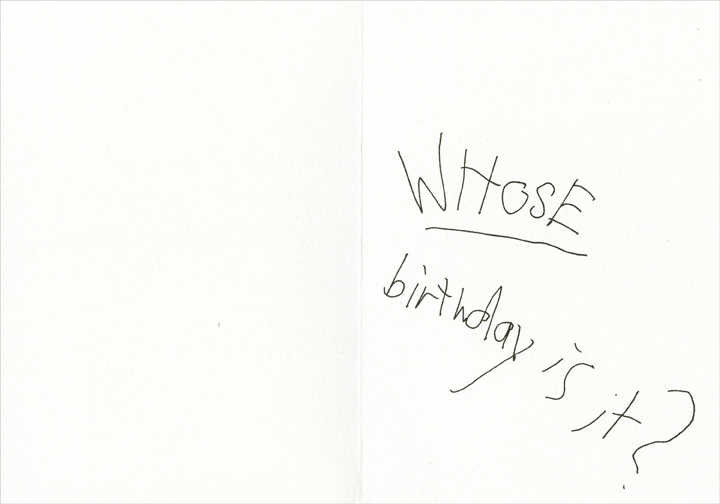 I'll Drink to That (1 card/1 envelope) Funny Birthday Card - FRONT: Your birthday? I'll drink to that!  Your good looks?  I'll drink to that!  Your youthfulness?  I'll drink to that!  Your wit?  I'll drink to that!  Your charm?  I'll drink to that!  INSIDE: Whose birthday is it?