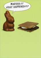 S'more (1 card/1 envelope) - Easter Card
