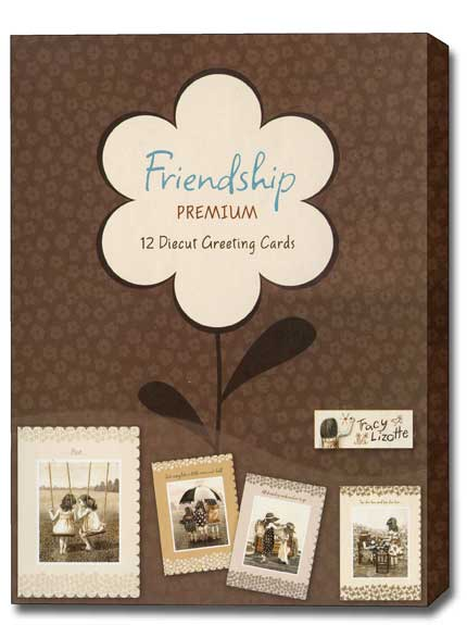 A Joyful Heart (12 Friendship Cards with envelopes) Assorted Boxed Friendship Cards