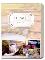 Waterscapes (12 Get Well Cards with envelopes) Assorted Boxed Get Well Cards