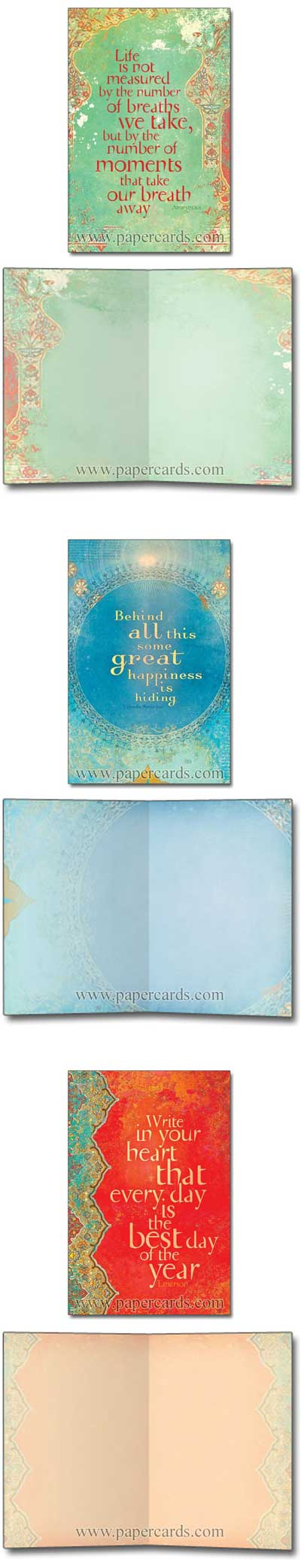 Precious Moments (12 cards/12 envelopes) Tree-Free Noteables Boxed Blank Note Cards