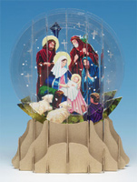 Nativity Snowglobe  (1 card/1 envelope)