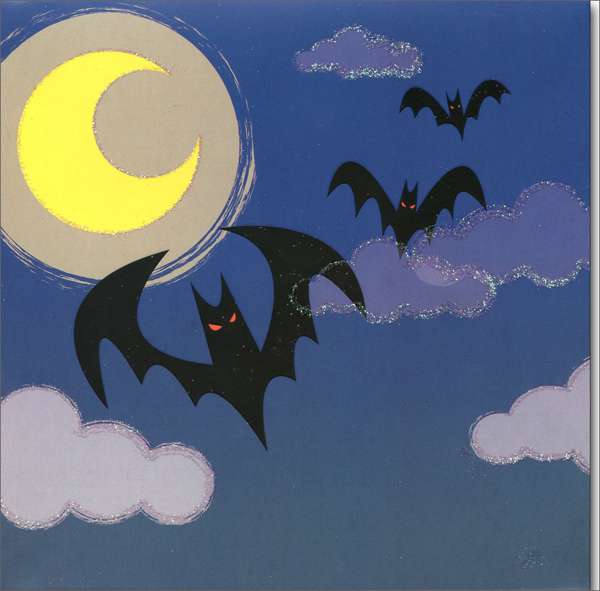 Silly Ghosts (1 card/1 envelope) Up With Paper Pop-Up Halloween Card  INSIDE: Happy Halloween!