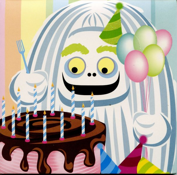 Birthday Monsters (1 card/1 envelope) - Birthday Card  INSIDE: Happy Birthday