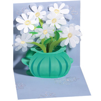 Daisy Bouquet (1 card/1 envelope) - Pop-Up Greeting Card