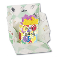 Birthday Surprise (1 card/1 envelope) - Pop-Up Birthday Card  INSIDE: Happy Birthday!