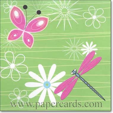 Daisy Birthday (1 card/1 envelope) Up With Paper Pop-Up Birthday Card  INSIDE: Happy Birthday