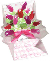 Bouquet of Roses (1 card/1 envelope) - Pop-Up Greeting Card