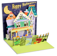 Keep Out (1 card/1 envelope) - Pop-Up Halloween Card  INSIDE: Happy Halloween