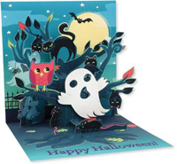 Haunted Tree (1 card/1 envelope) Up With Paper Pop-Up Halloween Card